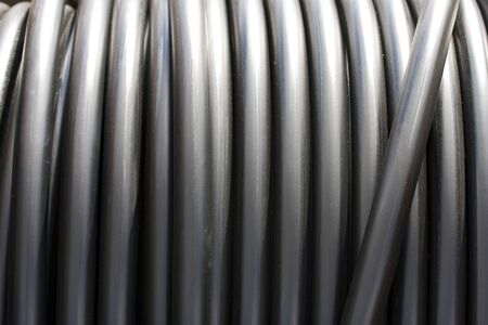 Construction Material - Roll of Metal Tubes Stock Photo - 4031242