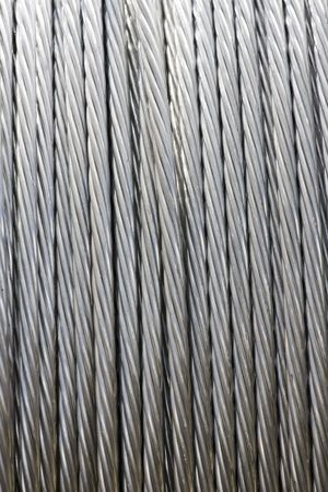 Construction Material - Roll of Metal Wire Strands Stock Photo - 4031245