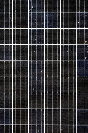 Close-up of a Photovoltaic Solar Panel Stock Photo