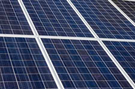 photocell: Series of Photovoltaic Solar Panels for Electricity Production