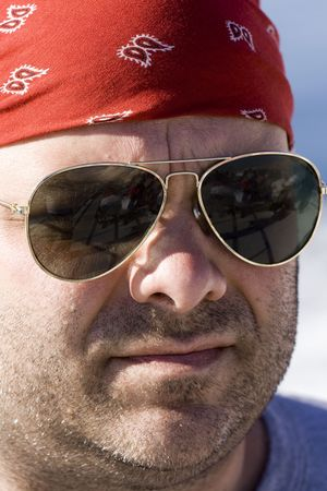 Adult Male in Forties with Sunglasses