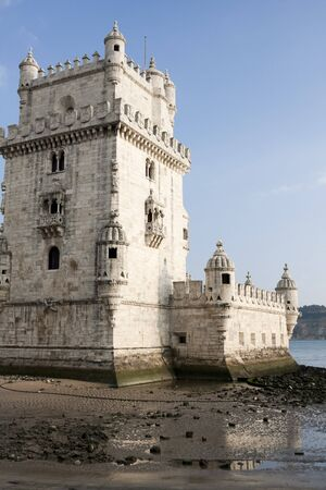 Torre de Belem Tower in Lisbon Portugal