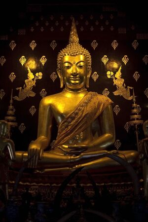 buddha image in thailand photo