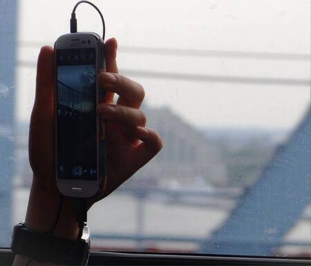capturing: Traveller capturing the moments