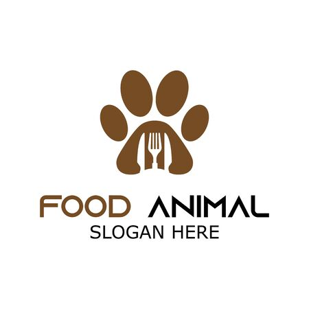 PET FOOD RESTAURANT CUTE VECTOR