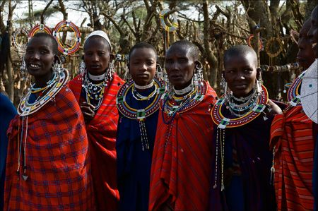The Maasai (also Masai) are a Nilotic ethnic group of semi-nomadic people located in Kenya and northern Tanzania.On March, 2009. Tanzania.