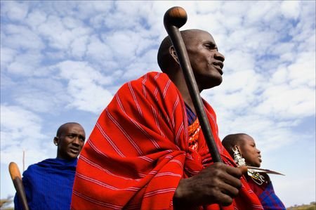 ethnic group: The Maasai (also Masai) are a Nilotic ethnic group of semi-nomadic people located in Kenya and northern Tanzania. On March, 2009. Tanzania.