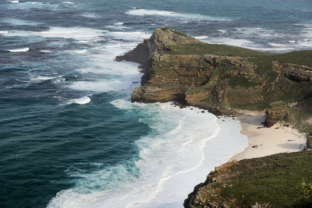 cape of good hope: Panorama of the Cape of Good Hope South Africa