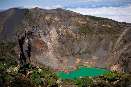 active volcano: The Irazu  Volcano is an active volcano in Costa Rica, situated in the Cordillera Central close to the city of Cartago.