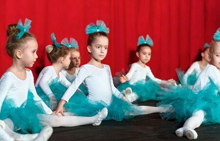 Saint Petersburg, Russia - December 16, 2018: Performance of a children's private ballet school. Saint Petersburg. Russia