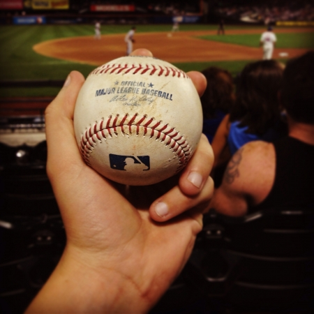 Caught a foul ball at the meta game