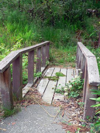 Path to Nowhere Stock Photo