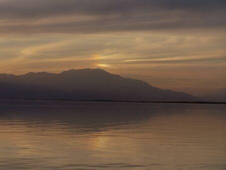 Evening Lake Reklamní fotografie