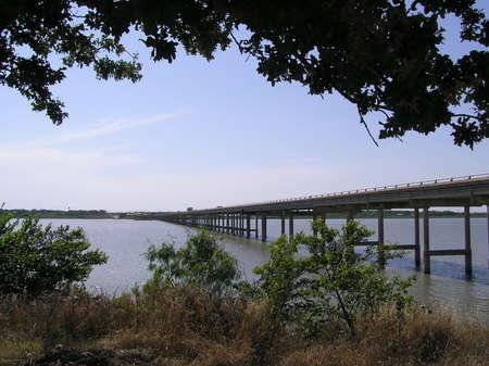 bridge over water: bridge over water