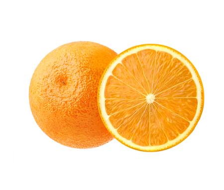 Ripe juicy orange. Beautiful citrus, southern fruit to set the mood. Stock Photo