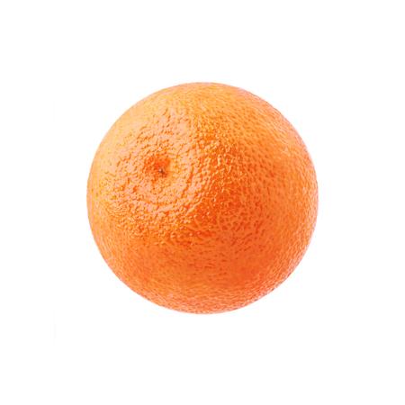 One ripe juicy orange