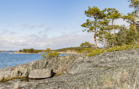 Archipelago landscape up north