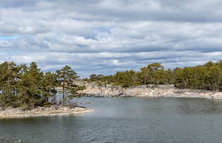 Archipelago landscape up north