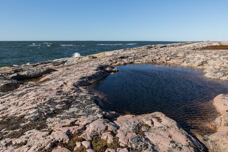 Northern archipelago landscape Stock Photo