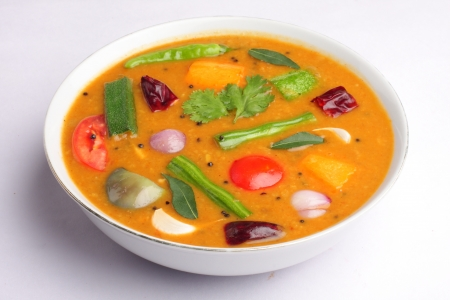 indian spice: Sambar a south indian dish