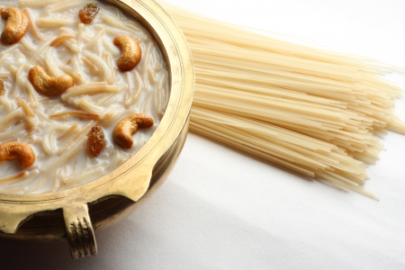 kerala culture: Payasam is a very famous dessert in South India   Stock Photo