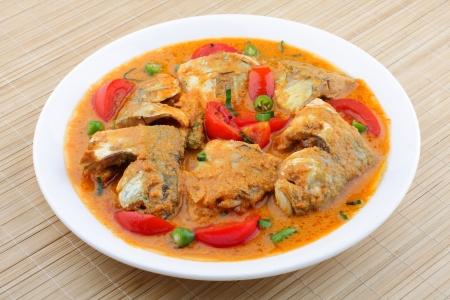 kerala culture: Coconut milk fish curry