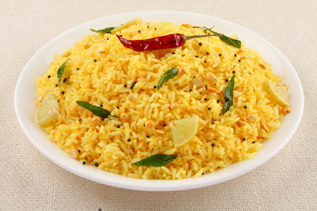 tamilnadu: Lemon rice from South Indian cuisine