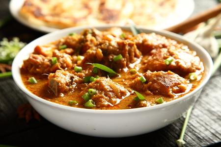 non: Spicy chicken korma curry