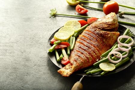 Recetas tradicionales- Pescado frito indio