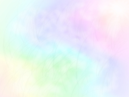 light soft rainbow color background design with light blades of grass Standard-Bild