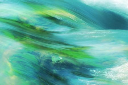 turquesa: agua corriente