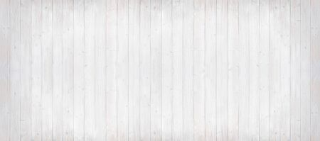 environmentally friendly: panorama background of light grey wooden planks, painted with environmentally friendly colors, vertical lined