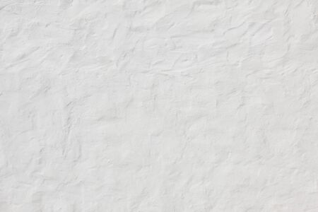 scraped: concrete facade with rough surface and spatula plastering Stock Photo