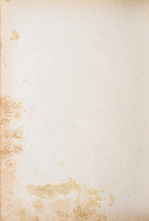 old fashioned sepia: vintage background design of mold made yellowed old paper Stock Photo