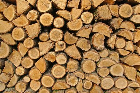 structured: Pila de troncos de madera, estructurado Foto de archivo