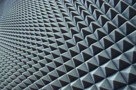 and sound: Close up de la cobertura de la prueba de sonido en el estudio de la m�sica Foto de archivo