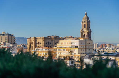 The Cathedral of Málaga in Andalusia in southern Spain. The Renaissance architecture.