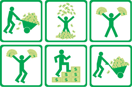People with money
