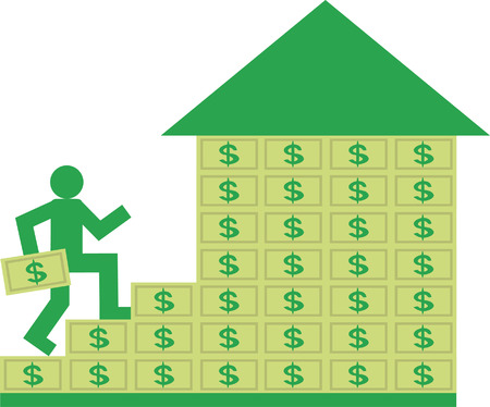 People with money Illustration