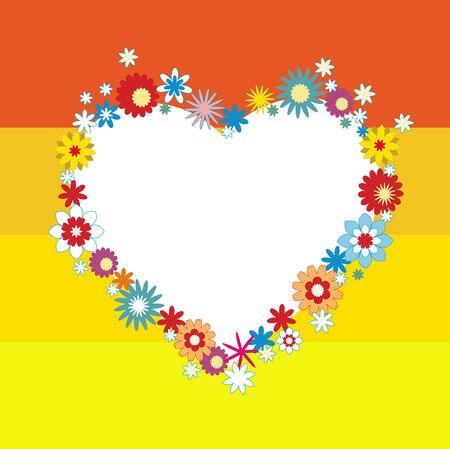 romantics: Valentines day frame