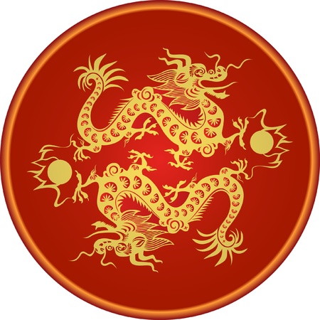 Dragon for the year 2012.