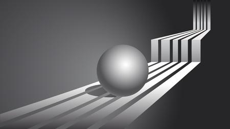 Sphere. Abstrakter Hintergrund
