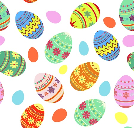 Easter decorative background