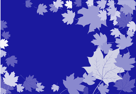 Leaves abstract background