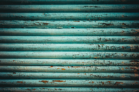 streaking: Vintage blue wood background with streaking paint. Old paint lags Stock Photo