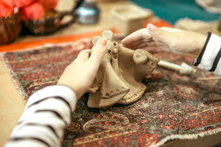 childrens hands sculpts
