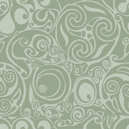 celtic inspired seamless background pattern Illustration