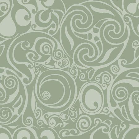 Keltische geïnspireerd naadloze achtergrond patroon  Vector Illustratie