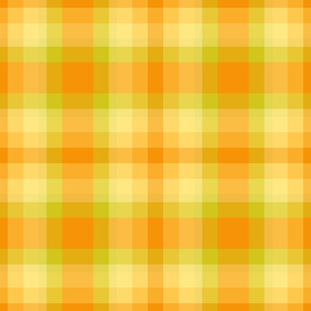 Yellow and green plaid seamless pattern