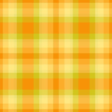gingham pattern: Yellow and green plaid seamless pattern